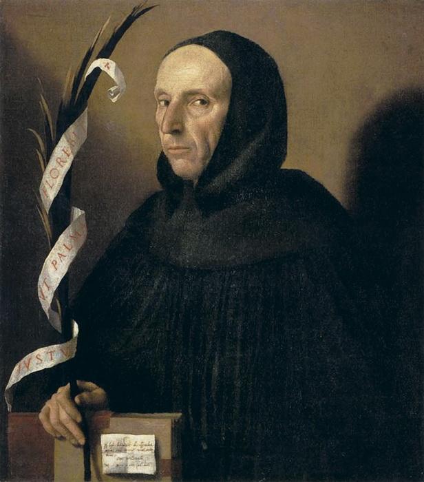 М. да Брешиа. Портрет Джироламо Савонаролы