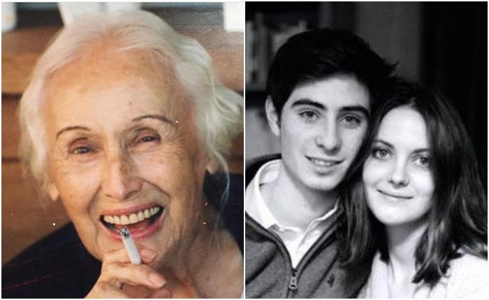 Бабушка и старшие дети Беар