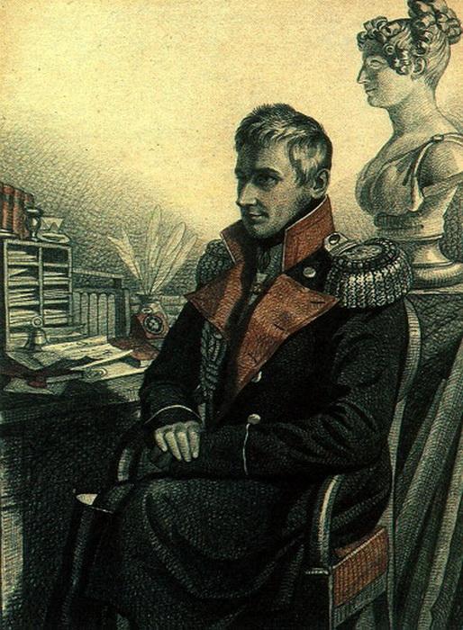 К. Гампельн. Портрет М.С. Воронцова