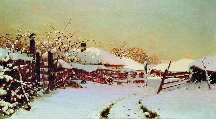 Н. Дубовской «Зима»