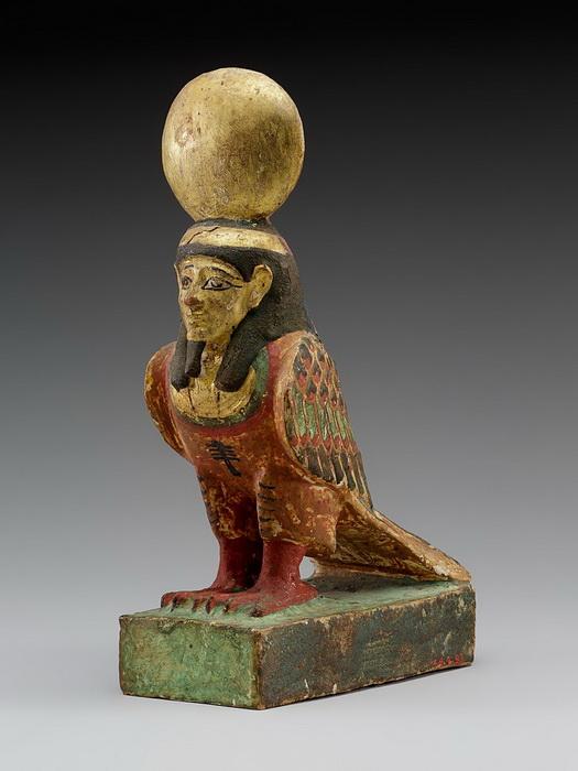 Фигурка Ба с головой человека и телом птицы
