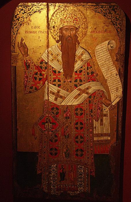 Святой Кирилл в миру звался Константином Философом
