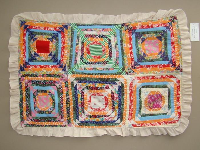 Лоскутное одеяло. Фото: museum59.ru
