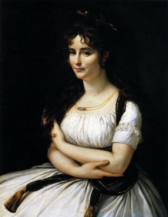 Портрет мадам Пастер, написанный в Италии, привлек внимание к художнику