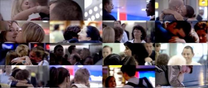 Начало и конец фильма посвящены кадрам реальных встреч в лондонском аэропорту