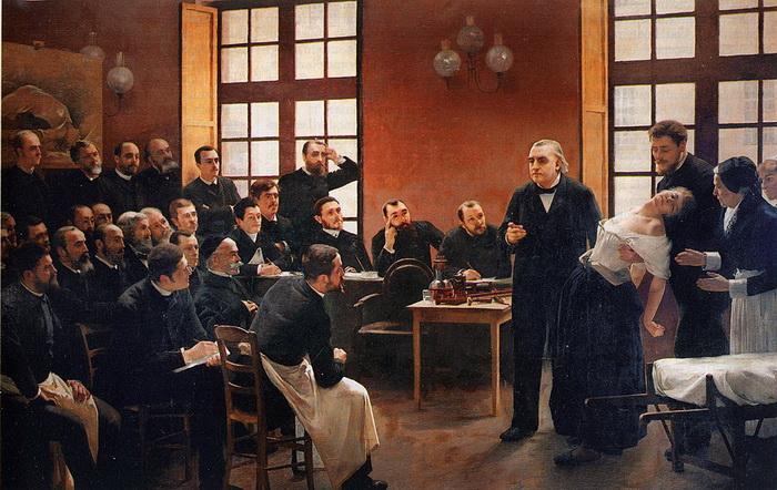 Лечение гипнозом в XIX веке главным образом применялось к больным истерией