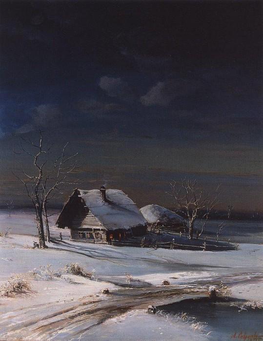 А.К. Саврасов «Зимний пейзаж»