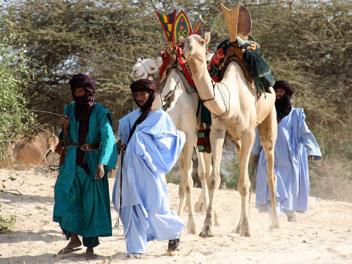 Потомками гарамантов часто называют туарегов