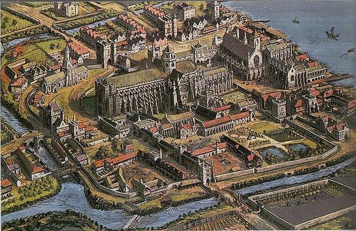 Район Вестминстер раньше был окружен реками и постоянно затапливался. Фото: wikipedia.com