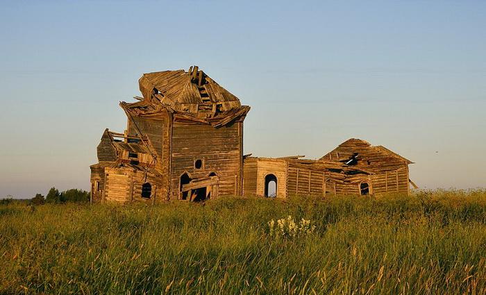 Церковь Николая Чудотворца в Архангельской области