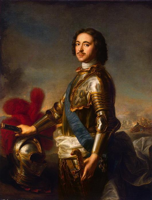 Петр принес в Российскую империю и эту западную традицию - присвоения дворянам «рыцарских» гербов и девизов
