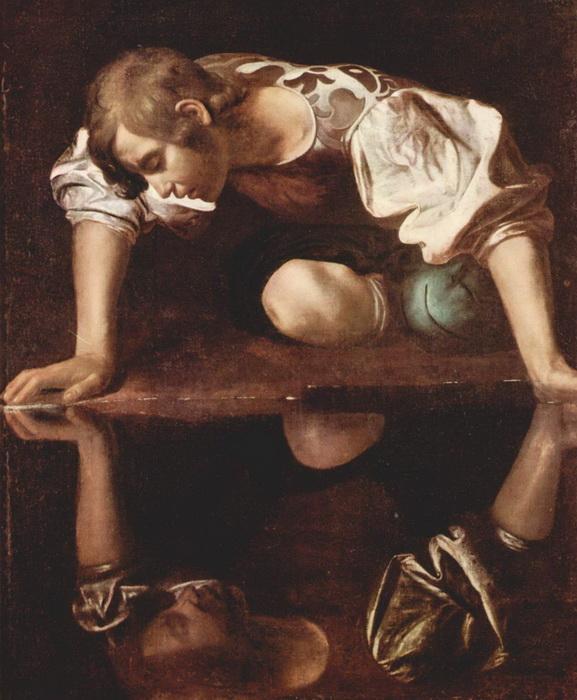 "М. де Караваджо. ""Нарцисс"""