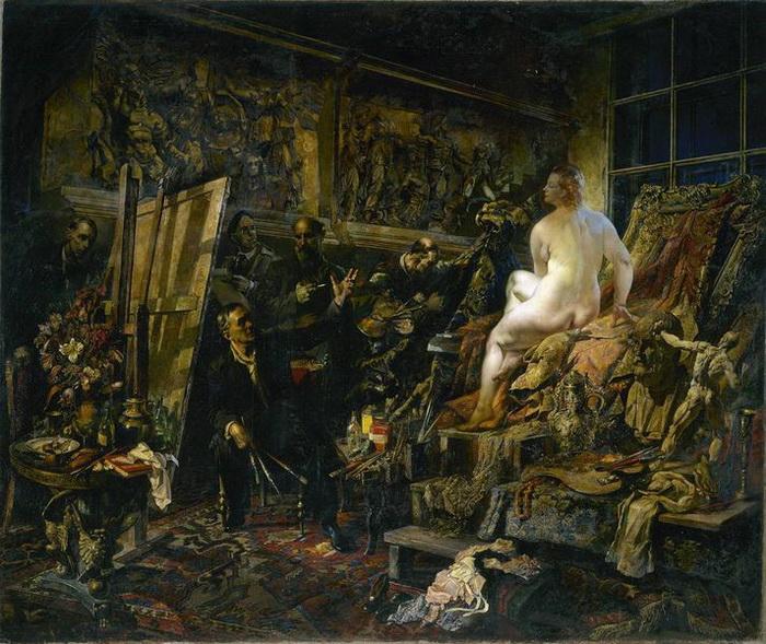 В.Н. Яковлев. «Спор об искусстве»