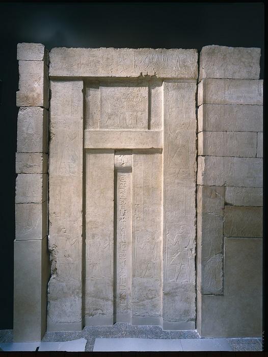 Ложная дверь, Египет, XXV век до н.э.