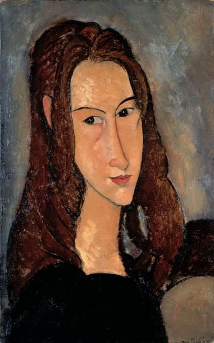 Портрет Жанны Эбютерн работы Модильяни