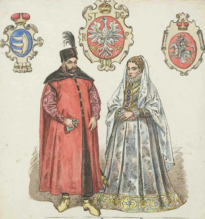 Стефан Баторий и Анна Ягеллонка