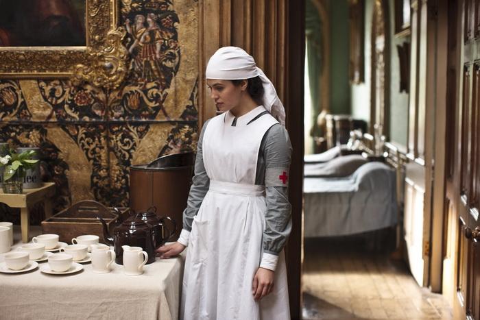 В главном доме во время войны размещался госпиталь
