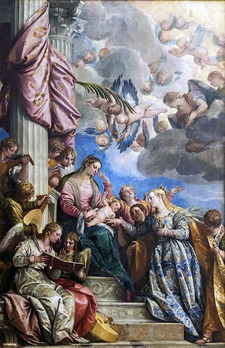 П. Веронезе. Мистическое обручение Святой Екатерины