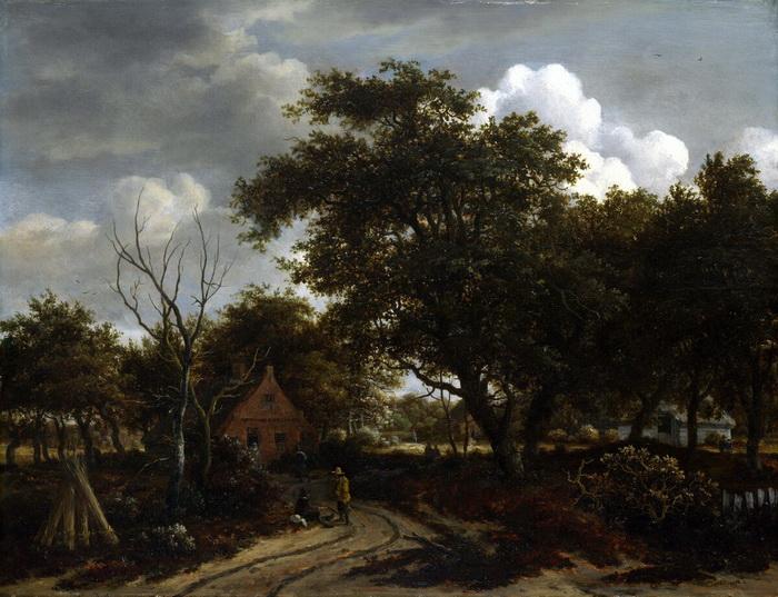 Мейндерт Хоббема - мастер изображения тихих сельских уголков