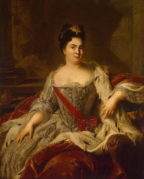 Ж.-М. Наттье. Императрица Екатерина I