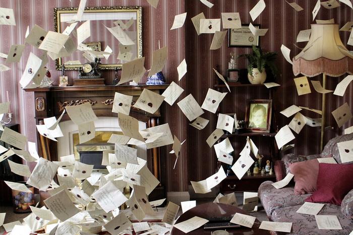 Письма о приеме в Хогвартс из экспозиции музея. Фото: pixabay.com