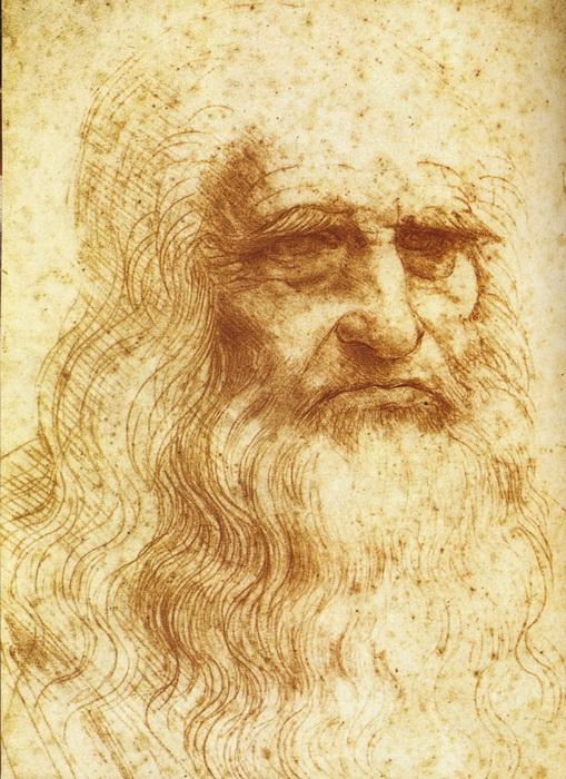 Знаменитый рисунок, который принято считать автопортретом Леонардо, возможно, был лишь этюдом к одной из фресок