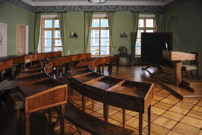Учебный класс в Лицее