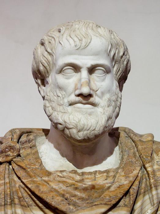 Аристотель, римская копия с греческого оригинала
