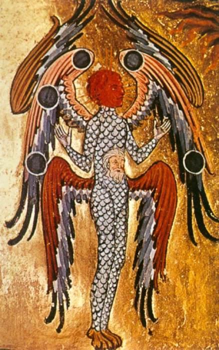 Миниатюра из рукописи Хильдегарды