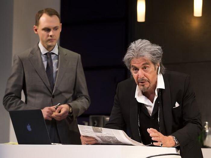 Аль Пачино в спектакле на Бродвее