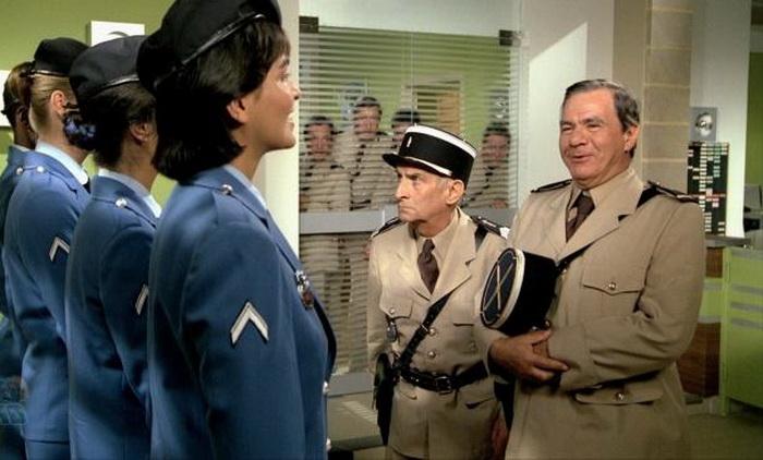 Из фильма «Жандарм и жандарметки»