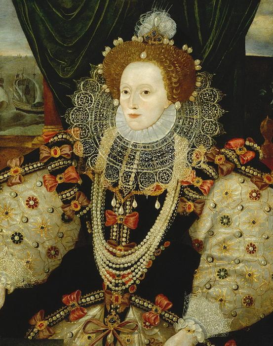 К будущей королеве Елизавете, своей падчерице, Анна была очень привязана