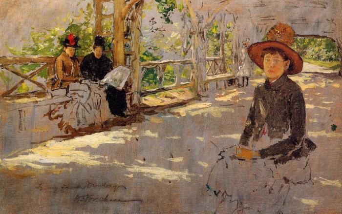Незаконченная картина Уильяма Мерритта Чейза