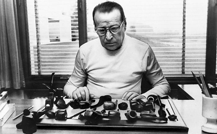 Сименон и его коллекция курительных трубок