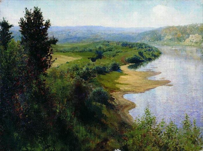 В.Д. Поленов «Река»