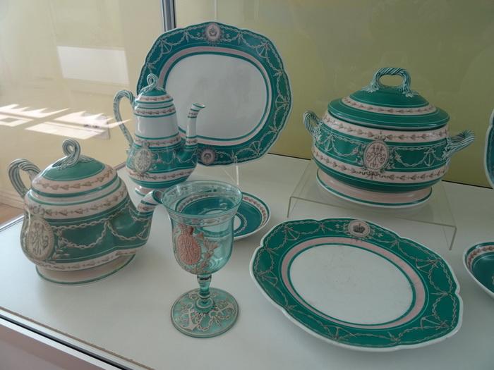 Каждая из императорских яхт была оснащена уникальным сервизом