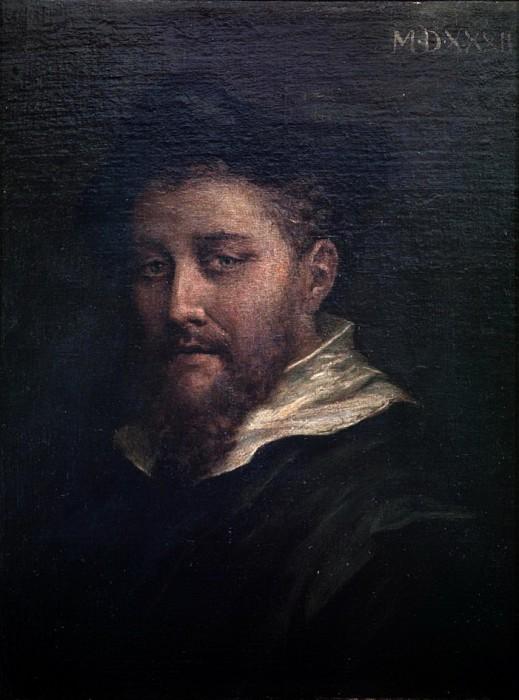 Предположительно, автопортрет Корреджо