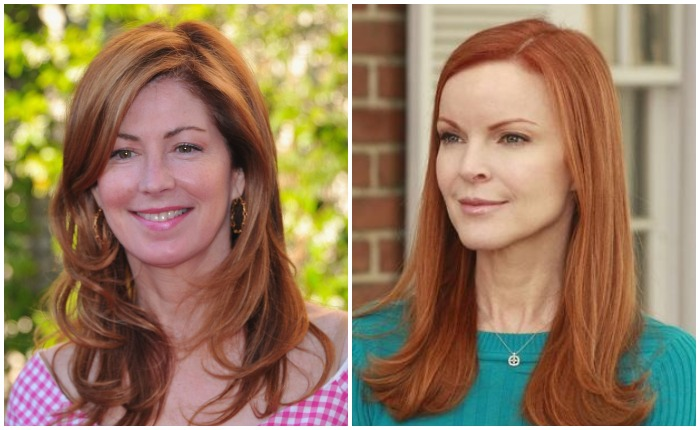 Дана Дилейни и Марсия Кросс, претендовавшие на роль Бри. Роль досталась Марсии, а Дилейни появилась в сериале позже