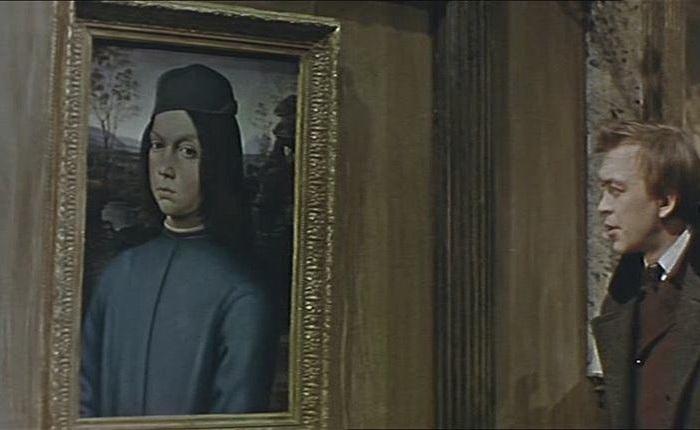 «Мальчик в голубом» - картина из кинофильма «Достояние республики»