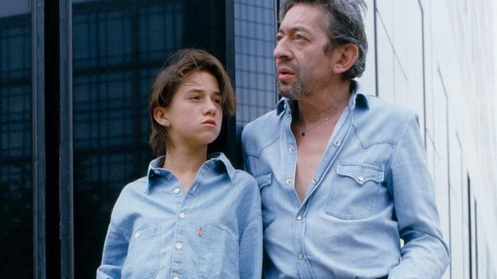 Генсбур с дочерью Шарлоттой, ставшей впоследствии актрисой и певицей