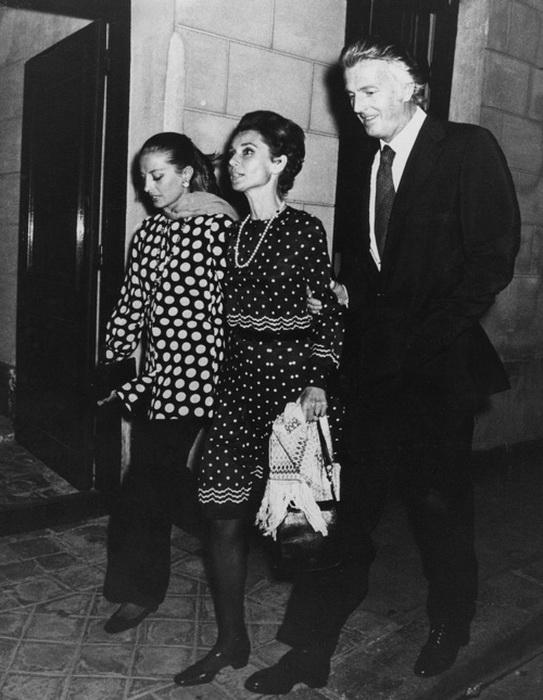 Капучине была очень дружна с Одри Хепберн
