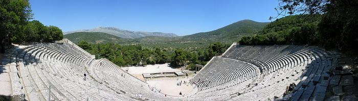 Руины древнегреческого театра