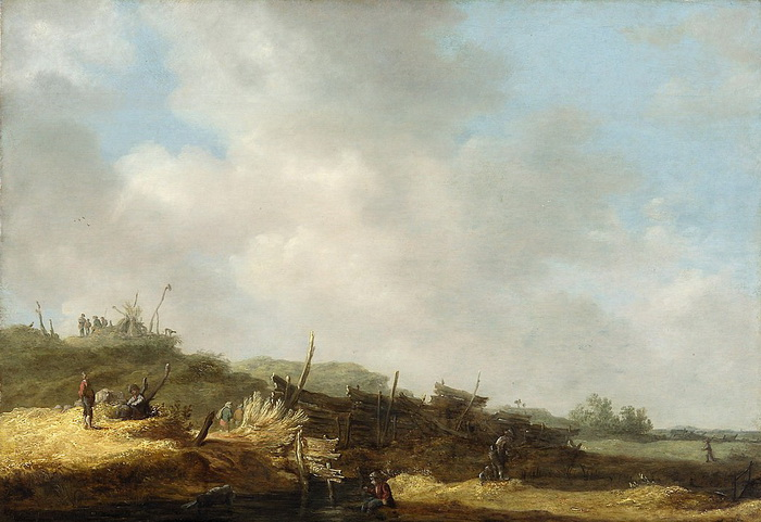 Ян ван Гойен - художник, чьи картины наполнены воздухом