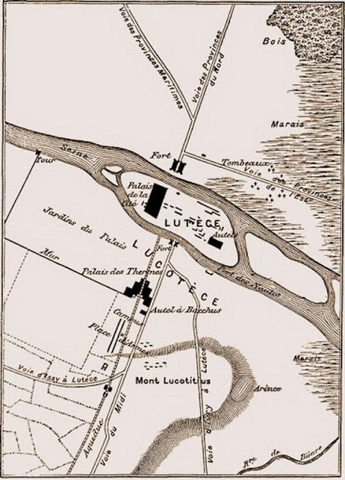 Болота, отмеченные еще римлянами на картах Лютеции, превратились в один из центральных районов Парижа - Марэ