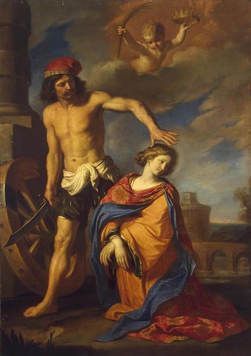 Гверчино. Мученичество Святой Екатерины