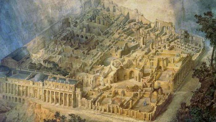 Дж. Ганди. Банк Англии в руинах
