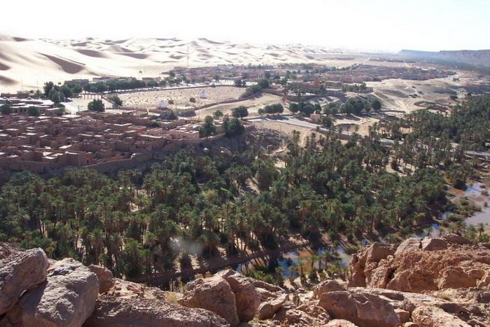 Оазис на территории Алжира
