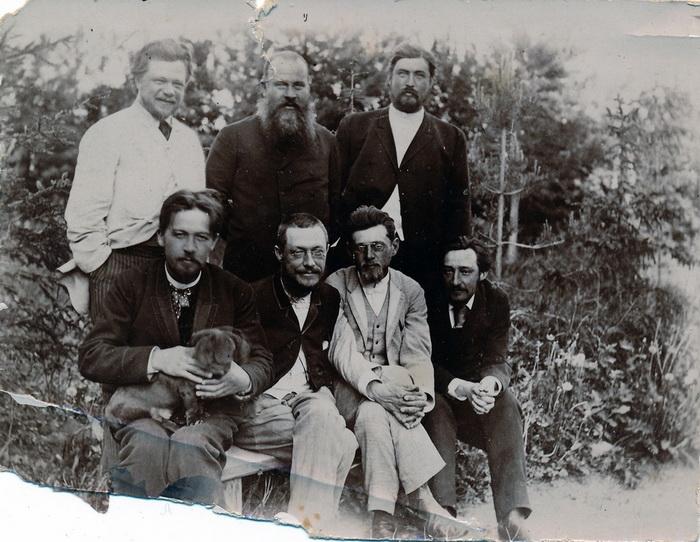 Чехов и другие земские деятели Серпухова