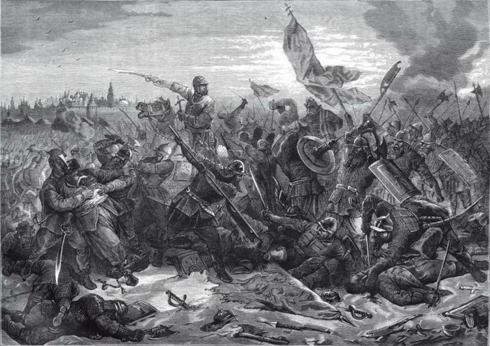 Битва в 1612 году с войском гетмана Ходкевича