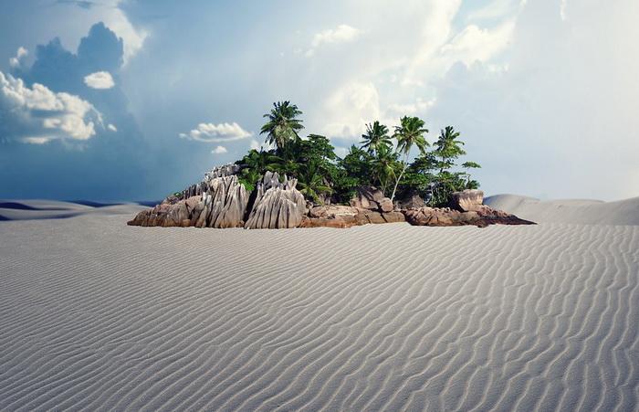 Оазисы - то, что помогало выживать жителям пустынь и путешественникам на протяжении всей человеческой истории